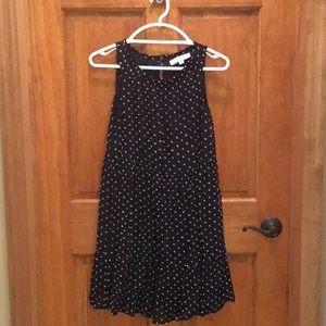 Cute Loft Navy & white spring/summer dress size XS